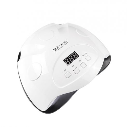 SilverHome SUN X7 Plus 90W profi UV/LED műkörmös lámpa - fehér