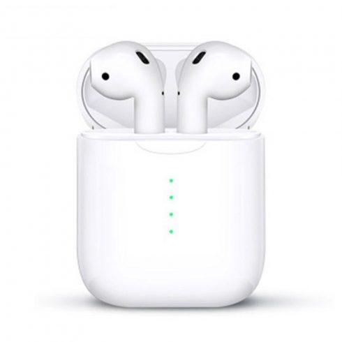 Bluetooth fülhallgató i100 5.0 tws 2019 fehér, érintésérzékeny