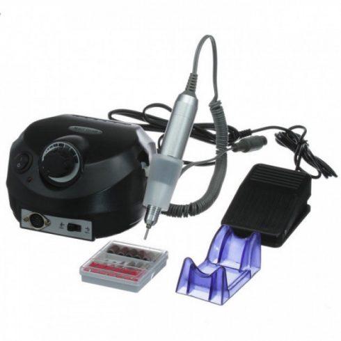 Profi pedálos műköröm csiszológép készlet DM-202 - fekete