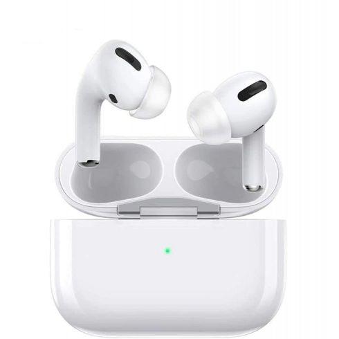 Wireless Earbuds Apple csatlakozóval - fehér