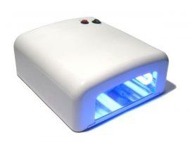 UV lámpa műkörömhöz / körömszárító - 36W - fehér