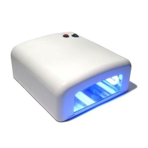Silverhome 4 fénycsöves UV lámpa műkörömhöz / körömszárító - 36W - fehér