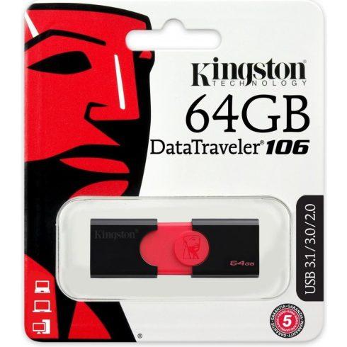 Kingston 64GB USB 3.0 DT106/64 GB pendrive