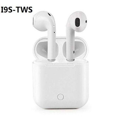 i9S-TWS TRB premium bluetooth fülhallgató töltőtokkal