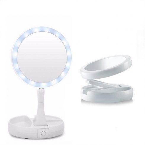 Kozmetikai nagyító tükör – Tízszeres nagyítással