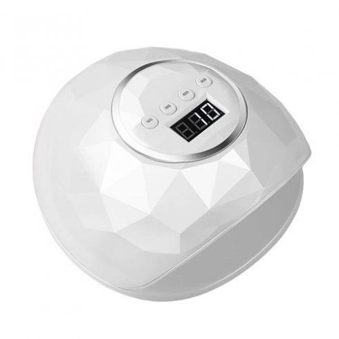 SilverHome F6 LED/UV műkörmös lámpa 86W - fehér