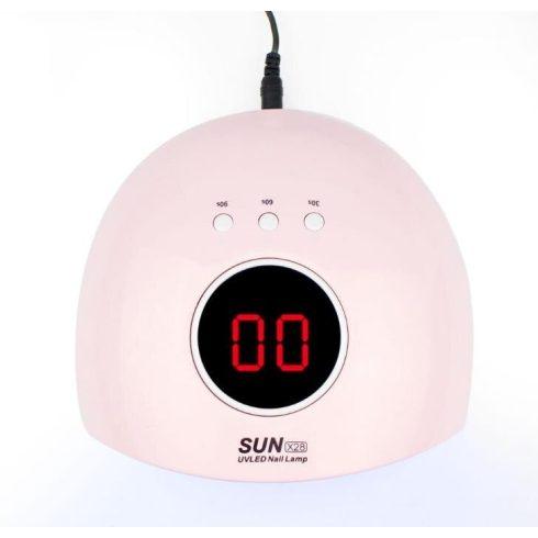 SUN X28 UV/LED műkörmös lámpa - rózsaszín