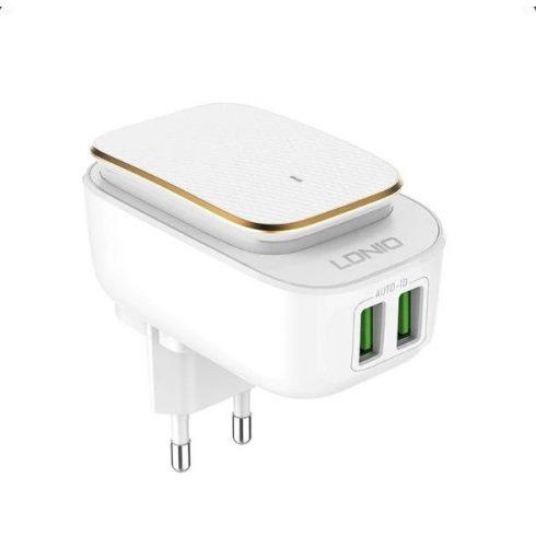 LDNIO 2 portos töltő Android készülékekhez - Micro USB