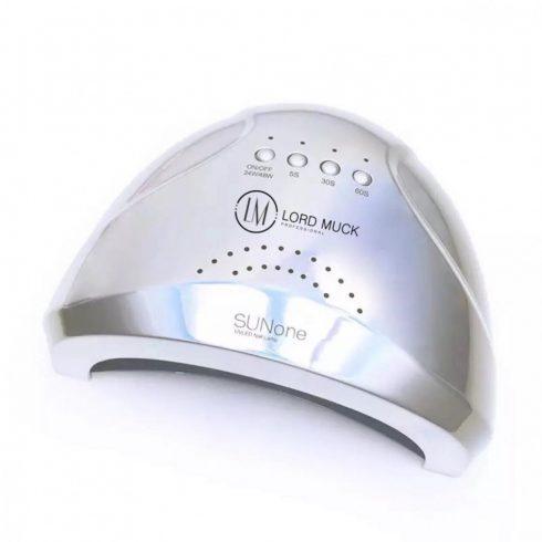 SunOne SilverMetal 48W Led/UV 2 in 1 műkörmös lámpa