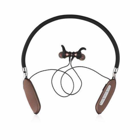Vezeték nélküli Bluetooth Sport Fülhallgató barna - VK89