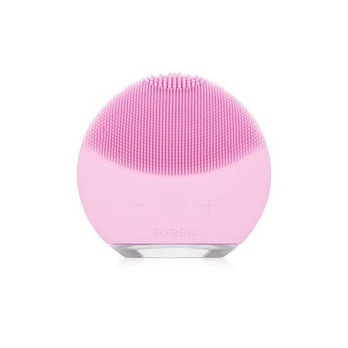 LUNAmini2 szilikon elektromos arctisztító - rózsaszín