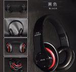 Bluetooth fejhallgató mikrofonal ,rádio fm és SD kártya ,P15 fekete