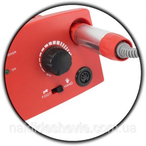 Profi pedálos műköröm csiszológép készlet DM-997 -piros