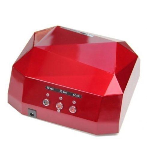 Silverhome Kombinált UV LED + CCFL 36W lámpa - piros