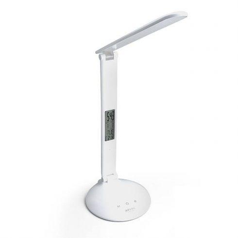 Asztali Érintős LED Lámpa 3 Színhőmérséklet Dátum Hőmérséklet TGX-7001