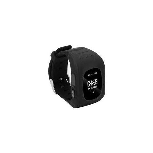 Q50-P gyermek okosóra GPS-sel - fekete
