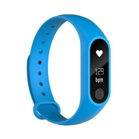 Bluetooth okos sport karkötő M2 - kék