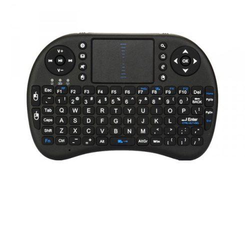 I8 Mini vezeték nélküli billentyűzet touchpaddal
