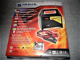 STRAUS Autó-motor akkumulátor töltő