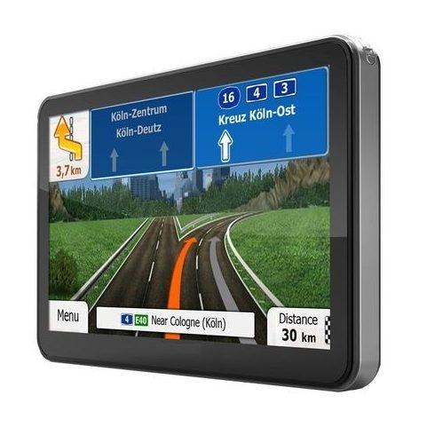 """GPS Navigáció 7"""", teljes Európa"""