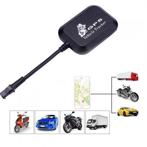 Univerzális GPS/GPRS nyomkövető autóhoz, motorhoz