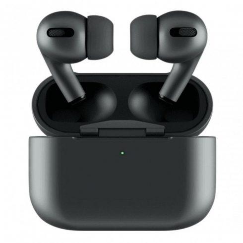 Wireless Earbuds Apple csatlakozóval - fekete