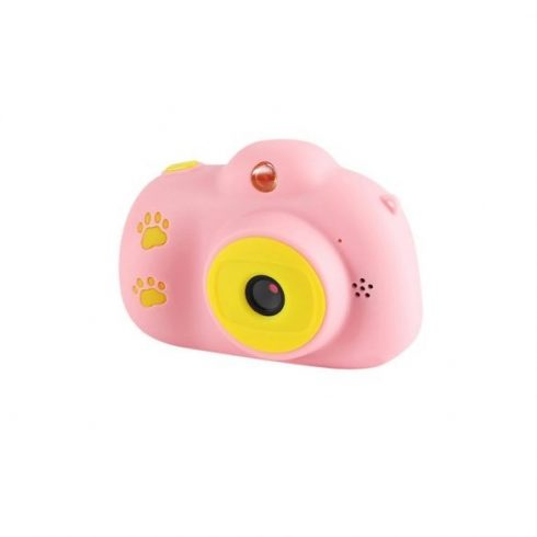 Kids Camera - gyermek fényképezőgép - pink