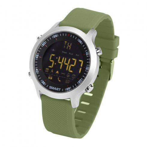 EX18 Smart Watch cseppálló bluetooth sport okosóra hívás emlékeztető funkcióval - zöld