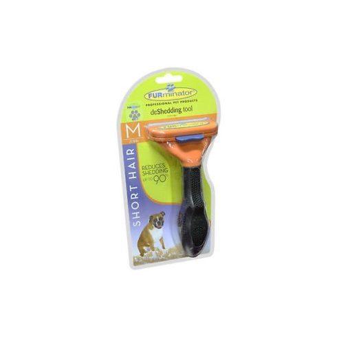 FURminator aljszőrkefe, rövidszőrű kutyáknak, M