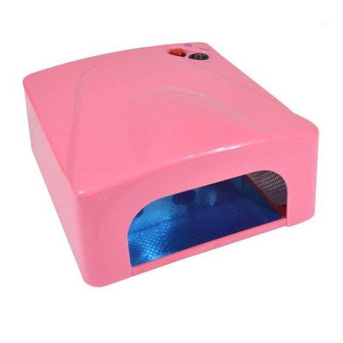 UV lámpa műkörömhöz / körömszárító - 36W pink