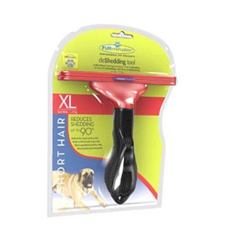 FURminator aljszőrkefe, rövidszőrű kutyáknak, XL
