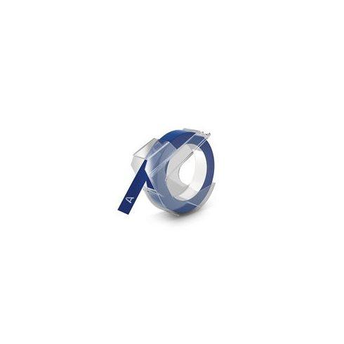 """Feliratozógép szalag, 9 mm x 3 m, DYMO """"3D"""", kék"""