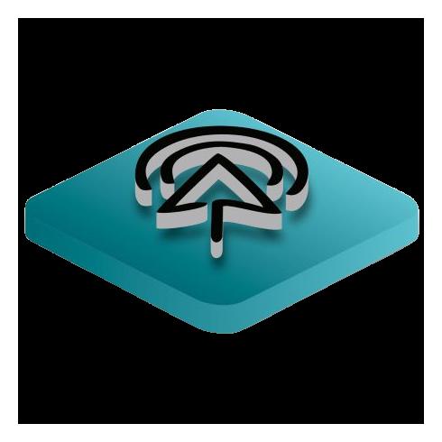 USB Portos Polymer Bank (Fekete, Hordozható Töltő) - N-11