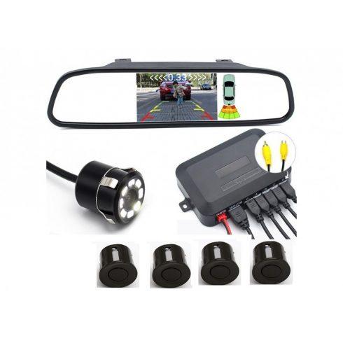 Autós video parkoló radar szett - TB1075