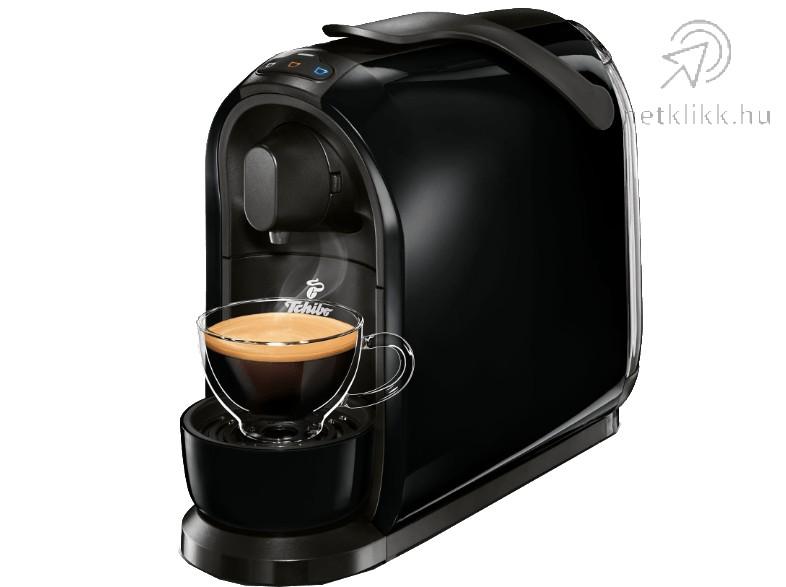 TCHIBO Cafissimo Pure kapszulás kávéfőző, fekete