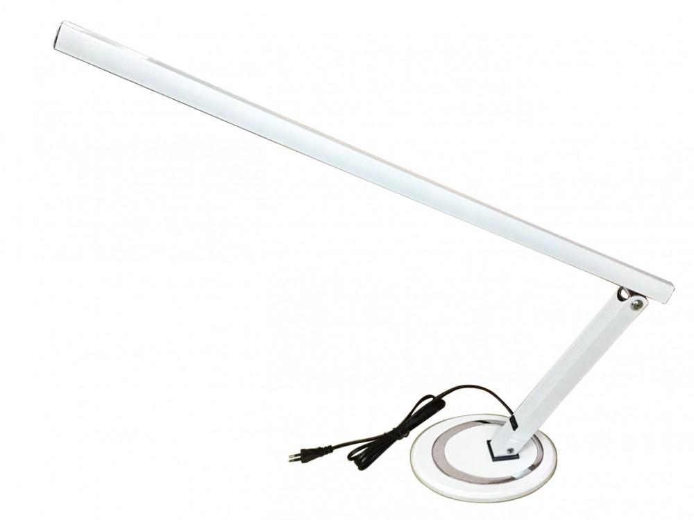 Műkörmös 12W LED Talpas asztali lámpa - fehér