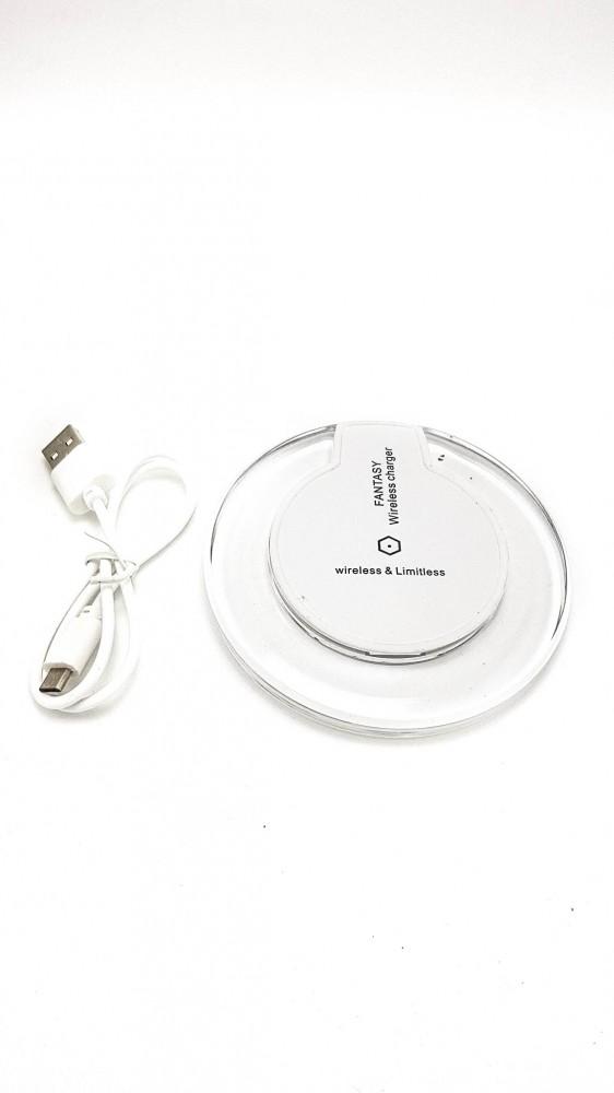 SilverHome - Fantasy vezeték nélküli töltő Iphone adapterrel - fehér