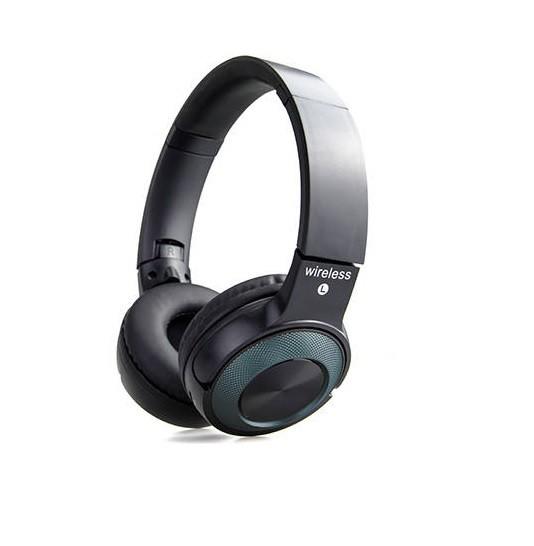 Vezeték nélküli bluetoothos fejhallgató P19 - zöld