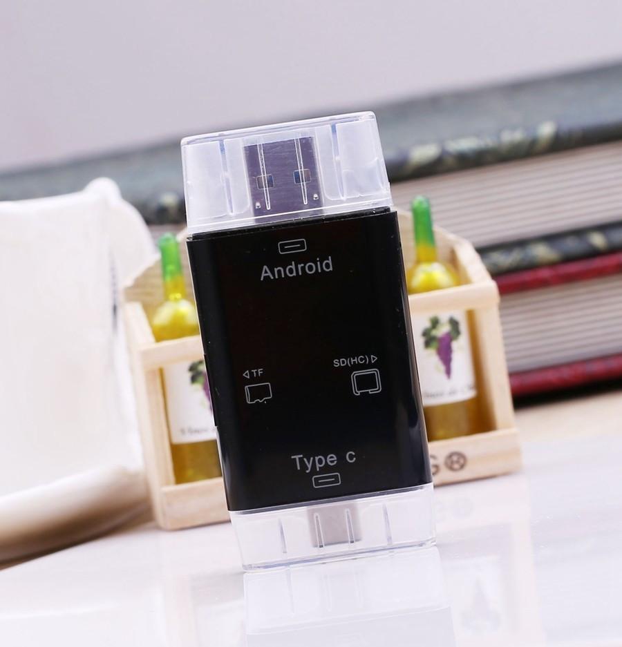 Univerzális 3 In1 Android OTG Kártyaolvasó - T-619