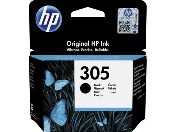 3YM61AE Tintapatron Deskjet 2320,2710, 4120 nyomtatókhoz, HP 305, fekete, 120 oldal