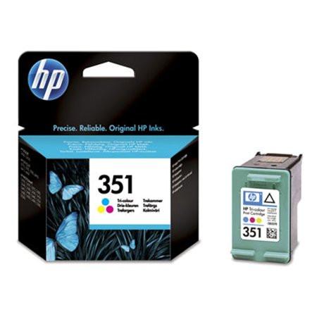 CB337EE Tintapatron DeskJet D4260, OfficeJet J5780 nyomtatókhoz, HP 351, színes, 3,5ml