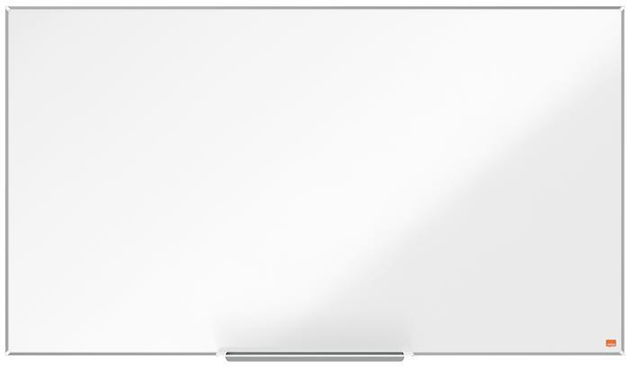 """Fehértábla, NanoClean™ felületű, mágneses, széles képarány, 55""""/122x69 cm, alumínium keret, NOBO """"Impression Pro"""""""