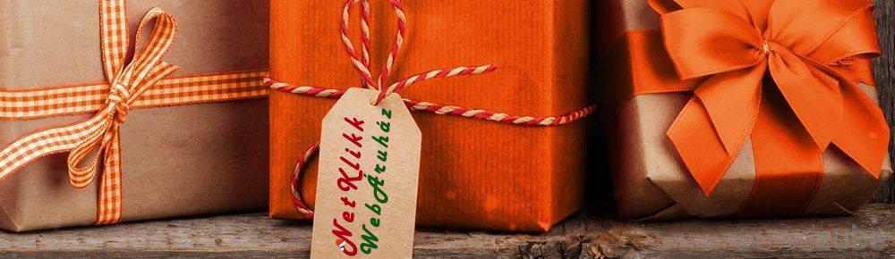 Karácsonyi ajándékok azonali átvétellel, vagy 48 órán belül futárral